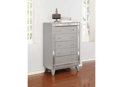 Leighton Metallic Mercury Chest