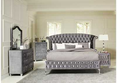 Image for Coral Reef 4 Piece California King Bedroom Set