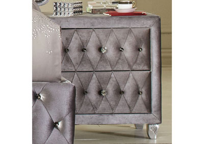 Image for Metallic Deanna Nightstand