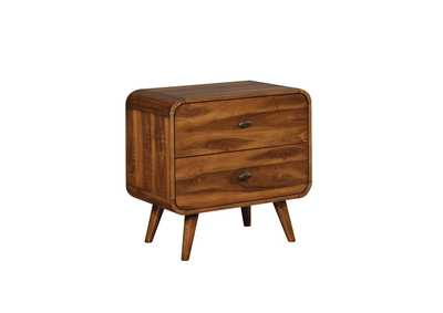 Image for Bull Shot Robyn Dark Walnut Nightstand