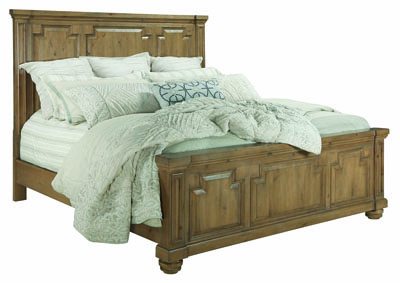 Florence Rustic Smoke Eastern King Bed