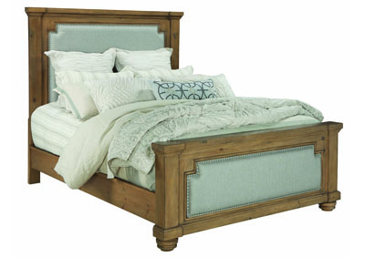 Florence Rustic Smoke California King Bed