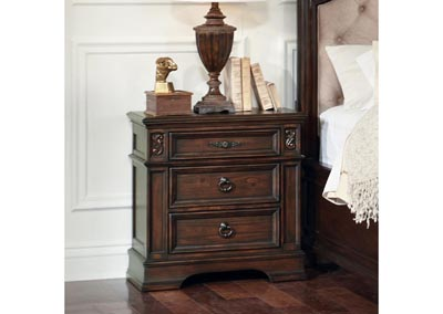 Ilana Antique Java Nightstand