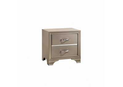 Beaumont Champagne Nightstand