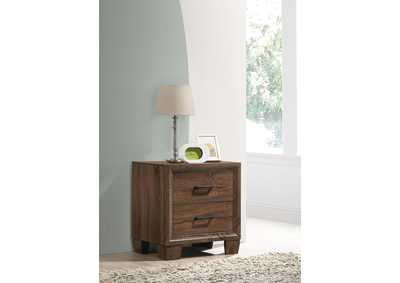 Brandon Warm Brown Nightstand