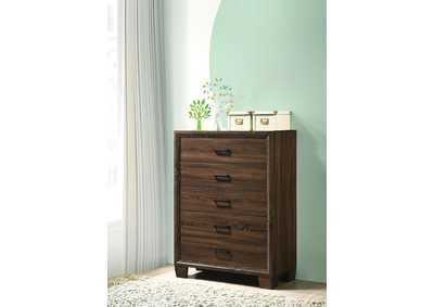 Medium Warm Brown Chest