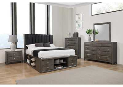 Phoenix Brown Queen Bed