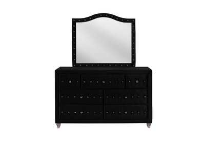 Image for Deanna Metallic Black Dresser and Mirror