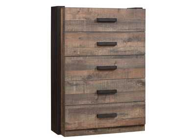 Weston Weathered Oak/Rustic Coffee Chest
