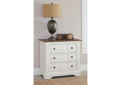 Celeste White Nightstand