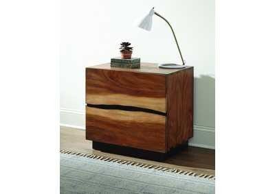 Smoky Walnut Nightstand