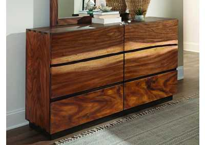 Smoky Walnut Dresser