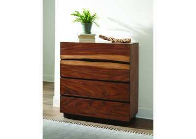 Smoky Walnut Chest
