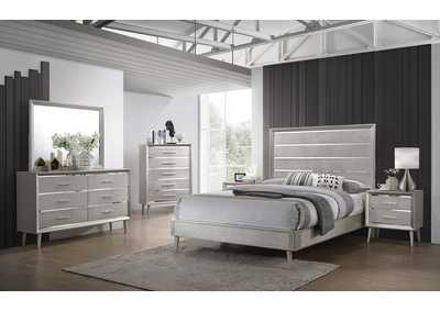 Image for Mine Shaft 4 Piece Full Youth Bedroom Set