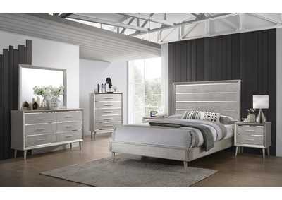 Image for Mine Shaft 5 Piece Full Youth Bedroom Set
