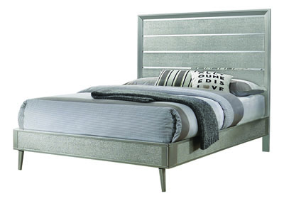 Metallic Sterling Eastern King Bed