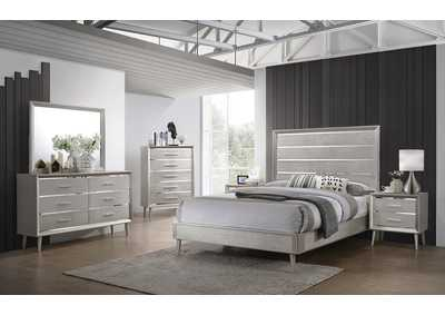 Image for Mine Shaft 4 Piece California King Bedroom Set