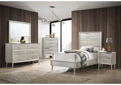 Image for Swirl 5 Piece Twin Youth Bedroom Set