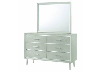 Metallic Sterling Dresser