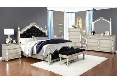Heidi Scarpa Flow 4 Piece Eastern King Bedroom Set