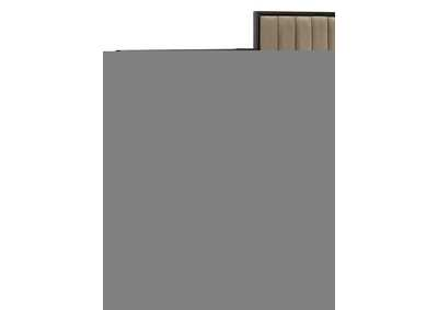 Image for Formosa Brown Upholstered Wall Bed Panel