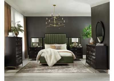 Image for Formosa Armadillo 4 Piece Storage California King Bedroom Set