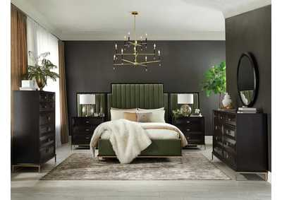 Formosa Brown California King Bed