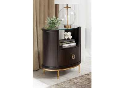 Formosa Brown Nightstand