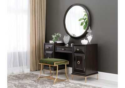 Formosa Brown Vanity Desk