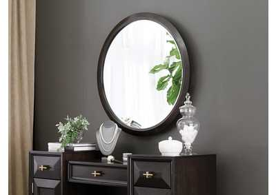 Formosa Grey Vanity Mirror