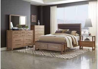 Smithson Oak California King Bed