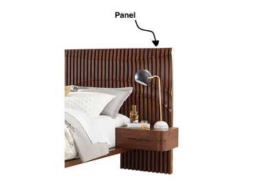 Image for San Mateo Desert Teak Wall Bed Panel