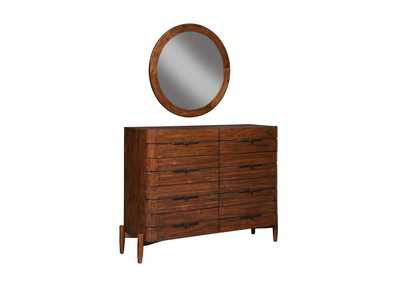 Image for San Mateo Desert Teak Mirror