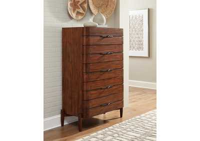 Image for San Mateo Desert Teak 5-Drawer Chest