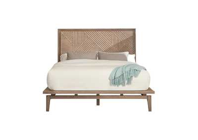 Vanowen Sandstone Platform California King Bed