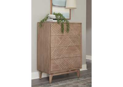Vanowen Brown 4-Drawer Chest