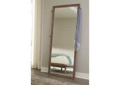 Vanowen Brown Floor Mirror