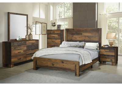 Sidney Soya Bean 5 Piece Eastern King Bedroom Set