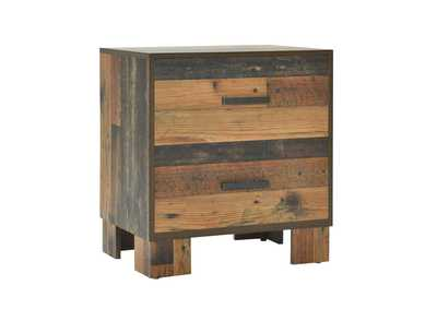 Image for Rustic Pine Nightstand