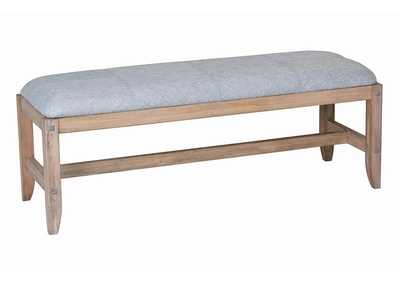 Tawny Natural Bedside Bench