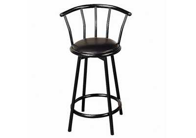 Satin 24in Bar Stool (Set of 2)