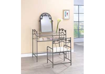Nickel Bronze Vanity Set