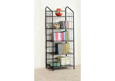 Office Black Bookcase