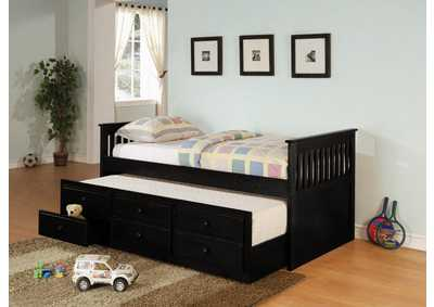 Black Twin Daybed
