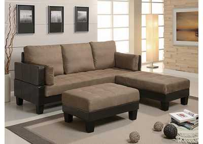 Ellesmere Tan Sofa Bed