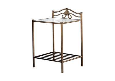 Image for Mercury Sydney Metal Nightstand