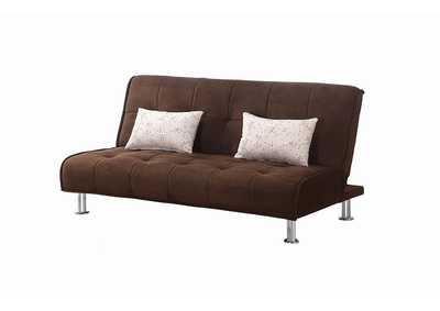 Image for English Walnut Ellwood Transitional Brown Sofa Bed
