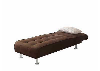 Brown Chaise Sofa Bed