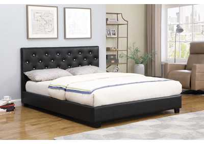 Regina Black Queen Bed