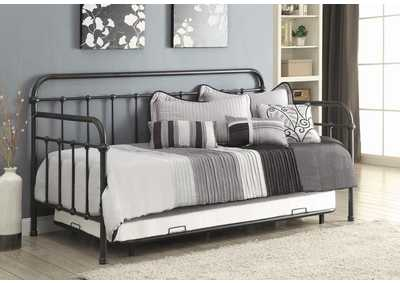Dark Bronze Metal Daybed